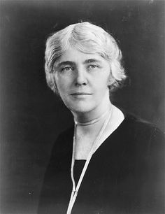 First Lady Lou Henry Hoover, circa 1925, wife of President Herbert Hoover. Born in Iowa, she was educated at Stanford University, where she met the future president.