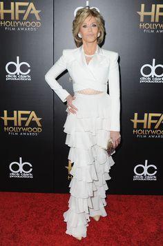 Jane Fonda Is Our Red Carpet Hero  - ELLE.com