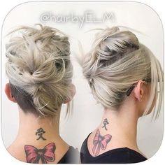 casual+messy+updo+for+medium+hair