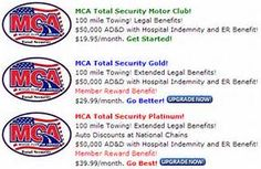 MCA Total Security Benefits  This is what it looks like...