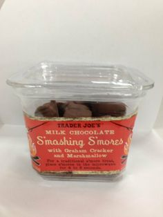 Trader Joe`s Milk Chocolate Smashing Smores with Graham cracker and Marshmallow - http://bestchocolateshop.com/trader-joes-milk-chocolate-smashing-smores-with-graham-cracker-and-marshmallow/