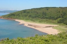 This is the beach at Dunvegan along the Ceilidh Trail on Cape Breton Island, Nova Scotia. You have access to this beach from McLeod's Campground. A wonderful place to spend some summer time!