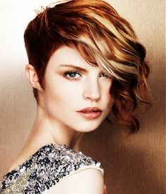 loooooove this - maybe when I get tired of my long asymmetric cut I'll go for something like this