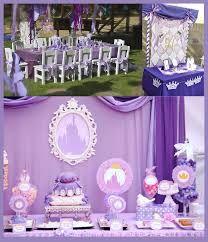 resultado de imagen para decoracion fiesta infantil princesa sofia