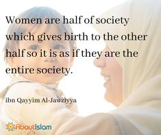 It is as if women are the entire society!