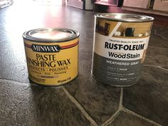 DIY Gray Furniture Wax - The Recovering Mother Diy Grey Furniture, Diy Furniture Polish, Minwax Wood Stain, Homemade Chalk Paint, Plastic Spoons, Grey Stain, Candle Jars, Gray, Wordpress