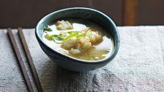 Crayfish miso soup
