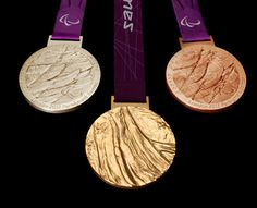The 2012 Paralympics Medals Offer Inspired, Tactile Interpretation Of Victory