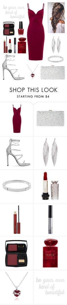 """""""be your own     kind of       beautiful"""" by nadakhalednasar ❤ liked on Polyvore featuring Sondra Roberts, Stuart Weitzman, Awü, Michael Kors, Anna Sui, Kevyn Aucoin, NYX, Lancôme, Giorgio Armani and Amanda Rose Collection"""
