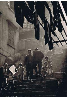 Street Scene by Ho Fan (1957)
