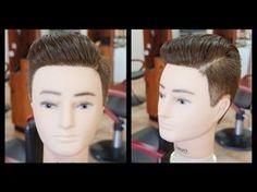 Austin Mahone NEW Pompadour Haircut Tutorial - TheSalonGuy - YouTube