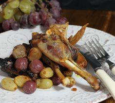 Fagiano Ruspante con uva dei colli Euganei