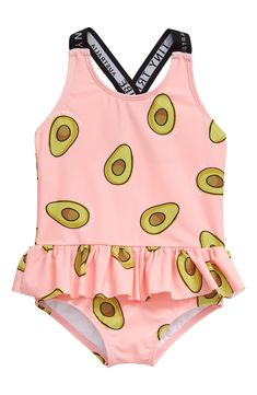 Cute Baby Girl Outfits, Kids Outfits Girls, Family Outfits, Cute Baby Clothes, Baby Girl Swimsuit, Pink Swimsuit, Baby Swimwear, Swimsuit Pattern, Kids Swimming