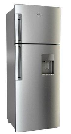 Refrigerador Whirlpool. 13 pies cúbicos. Silver. Dispensador de agua. M/LWT3530D.