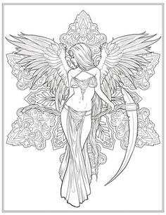 Free coloring page: from Night Magic by Selina Fenech