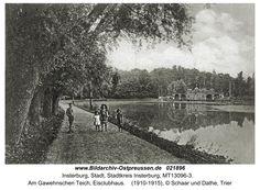 Insterburg, Am Gawehnschen Teich, Eisclubhaus