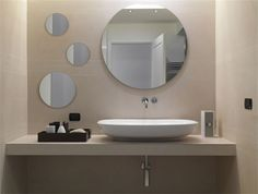 Bathroom trends 2017 2018 designs colors and materials bathrooms pinterest design - Specchio tondo bagno ...