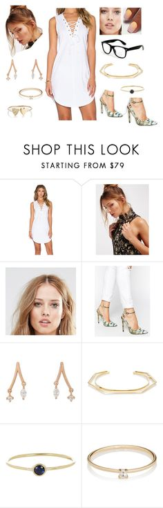 """""""Bez tytułu #18756"""" by sophies18 ❤ liked on Polyvore featuring NYTT, Free People, Piper, ASOS, Tate, Monique Péan, Jennifer Meyer Jewelry and Grace Lee Designs"""