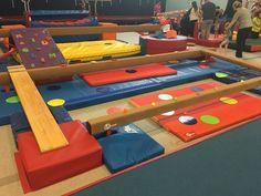 Preschool Gymnastics Theme Week - CANDYLAND! #gymnastics #preschool #candy #kindergym #theme #coach #ideas #decorations #recreational #recgympros
