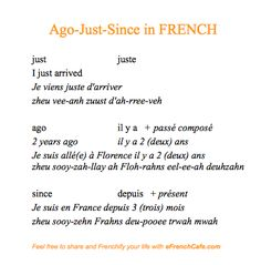 "how to say ""I just got here"":  French, French, et un petit peu de #French...  (http://www.efrenchcafe.com/)"