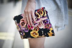 Accessorize floral clutch - Posted by Elle UK