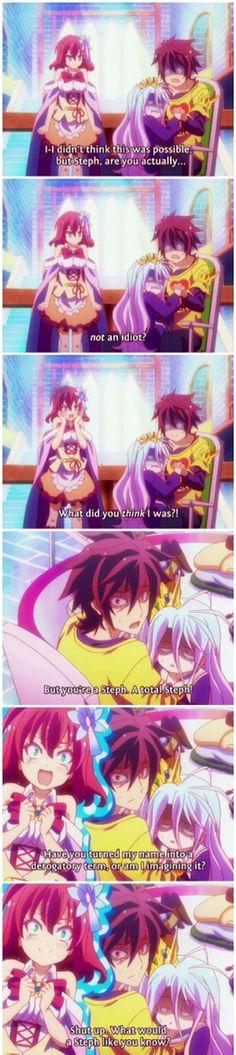 No Game, No Life    anime funny
