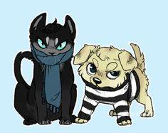 catlock and johndog