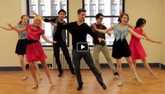 This tap dance is AWESOME!!! To the cups song. Totally worth watching