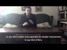 Descripción en un rap en inglés del sistema educativo español señalando una interpretación del porqué de sus malos resultados. (Via Berta)