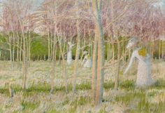 View Le bois aux jonquilles by Maurice Denis on artnet. Browse upcoming and past auction lots by Maurice Denis. Maurice Denis, Avant Garde Artists, Fauvism, Impressionist, Art Boards, Oil On Canvas, Artwork, Abstract Art, Fine Art