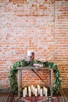 cake table - photo by FreeHope Photography http://ruffledblog.com/romantic-bohemian-wedding-ideas
