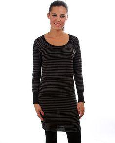 G2 Fashion Square Mini Stripe Long Sweater Dress - Listing price: $110.95 Now: $20.88 + Free Shipping