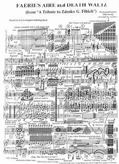 this just looks fun ~ I like how its a waltz but in common time and there are several whole notes in the same measure with other notes... not to mention, the parts that are properly written are just every note in an octave and a half (or more) played together. Should sound sweet...