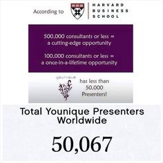 Need extra cash?  Check out Younique ... For only $99, you could be a part of this amazing family!  Be a part of my team!  There are only a little over 50K presenters worldwide!  You could be the next one! www.youniqueproducts.com/marshavickery