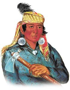Picture of a Wea Miami Indian. Taken from http://www.warpaths2peacepipes.com/