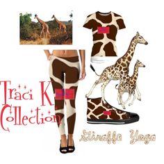 Image result for giraffe yoga traci k collection