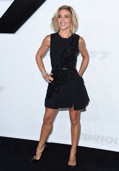 Elsa Pataky in 'Furious 7' World Premiere