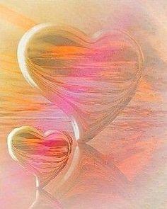 Valentine Images, Valentine Day Love, Valentines, Heart In Nature, Heart Art, Heart Wallpaper, Love Wallpaper, Fractal, Collage Background