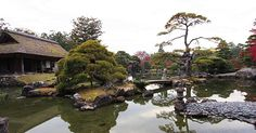 Katsura Imperial Villa (桂離宮, Katsura Rikyū) is one of the finest examples of purely Japanese architecture and garden design. The villa and garden in their present form were completed in 1645 as the residence for the Katsura Family, members of Japan's Imperial Family.