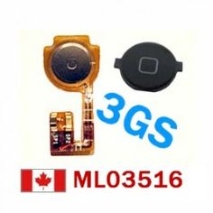 OEM iPhone 3GS Home Button + Flex Cable Replacement  Price = $11.56