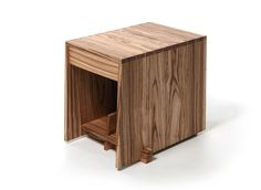 a-frica / End Table. Zebrawood
