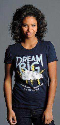 Buy this Dream Big Boyfriend Tee at http://www.sevenly.org/product/522f505ecf4178ff00000005?cid=ShrPinterestProductDetail