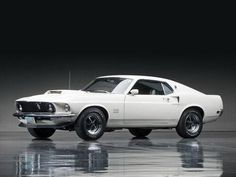 1969 Ford Mustang Boss 429.