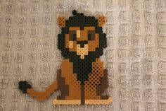 Scar - The Lion King Perler Bead Sprite by TriforceDragon Creations