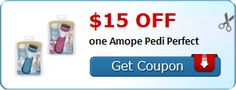 New Coupon!  $15.00 off one Amope Pedi Perfect - http://www.stacyssavings.com/new-coupon-15-00-off-one-amope-pedi-perfect/
