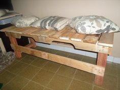 DIY Repurposed Pallet Mudroom Bench!! | 99 Pallets