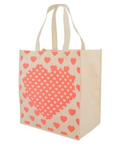 Hearts Shoppers Tote - StyleSays
