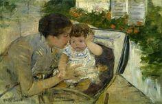 Mary Cassatt o único artista americano diretamente associada com o movimento impressionista francês é hoje lembrado por seus íntimos cenas domésticas. http://do713.com/event/weekly/thu/gallery-talk-spotlight-on-mary-cassatt-painter-and-printmaker