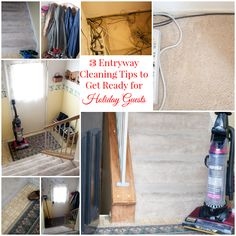 3 Entryway Cleaning Tips to Get Ready for Holiday Guests #EurekaPower #SPON #CollectiveBias