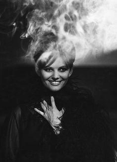 Claudia Cardinale in Otto e mezzo (1963)